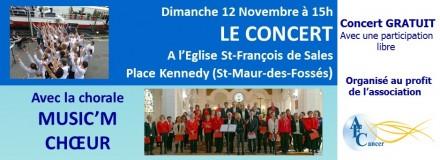 Le Concert du 12 Novembre 2017
