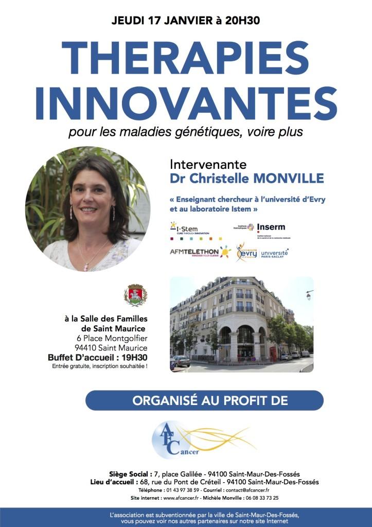 Thérapies Innovantes Janvier 2019