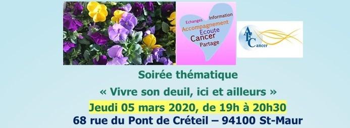 Soirée thématique vivre son deuil-bannière 160305. ppt